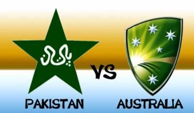 پاکستان اورآسٹریلیا کے درمیان 5چ ایک روزہ میچوں کی سیریزکاپہلابین الاقوامی کرکٹ میچ کل شارجہ میں کھیلاجائے گا