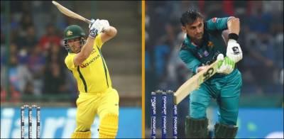 پاکستان اور آسٹریلیا کے درمیان پہلا ون ڈے آج کھیلا جائے گا