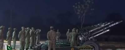 قرارداد پاکستان :ملک بھر میں دن کا آغاز توپوں کی سلامی کے ساتھ