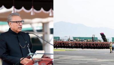 پاکستان ایک ذمہ دار ایٹمی ملک ہے جو جنگ نہیں بلکہ امن چاہتا ہے, پاکستان کی امن کی خواہش کو کمزوری نہ سمجھا جائے: صدر ڈاکٹر عارف علوی