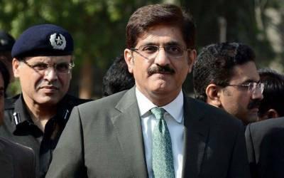 جعلی اکائونٹس کیس: وزیراعلیٰ سندھ مراد علی شاہ نیب آفس راولپنڈی میں پیش