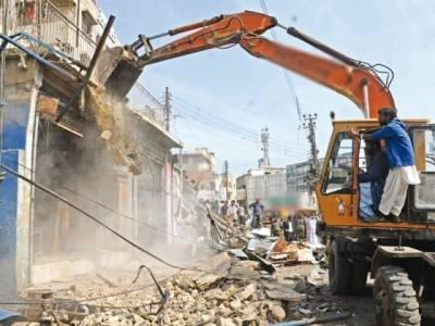 بلدیہ عظمیٰ کراچی کا شہر میں قائم مزید غیر قانونی دکانیں گرانے کا فیصلہ