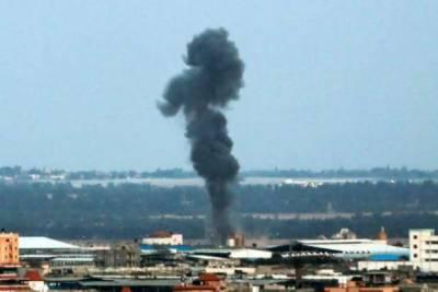 اسرائیل کے غزہ میں حماس کی تنصیبات پر فضائی حملے،تین میزائل داغے