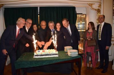 سفارت خانہ پاکستان فرانس نے یوم پاکستان کی یاد میں ایک سفارتی استقبالیہ دیا