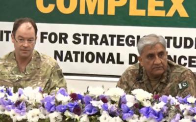 برطانوی کمانڈر،آرمی چیف کا علاقائی سلامتی، پیشہ ورانہ دلچسپی کے امور پر تبادلہ خیال