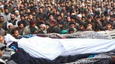 بڈگام میں بھارتی فوج کی ریاستی دہشت گردی، مزید دو کشمیری نوجوانوں کو شہید کردیا