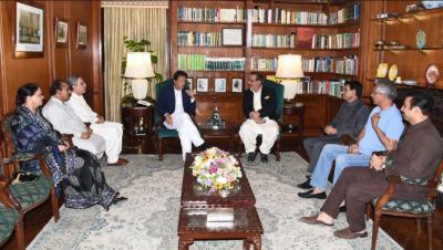 متحدہ کے وفد کی وزیراعظم عمران خان سے ملاقات