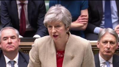 برطانیہ:ارکان پارلیمنٹ نے تھریسامے کے بریگزٹ معاہدے کوپھر مسترد کردیا
