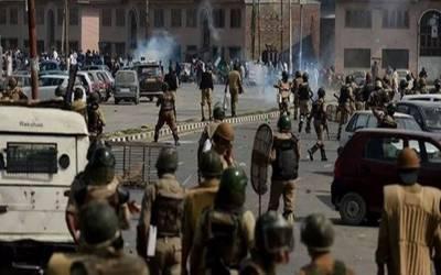 مقبوضہ کشمیر میں مظلوم کشمیری کا قتل عام کا نہ رکنے والا سلسلہ جاری