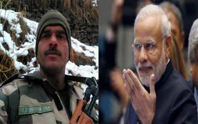 سابق بھارتی فوجی تیج بہادر کا مودی کیخلاف الیکشن لڑنے کا اعلان