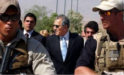 امریکی نمائندہ خصوصی زلمے خلیل زاد آج پاکستان پہنچیں گے