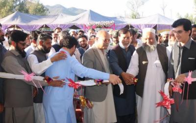 الخدمت فاؤنڈیشن کے ہیلتھ پروگرام کے تحت مردان میں 50بستروں کے الخدمت مشال میڈیکل کمپلیکس کا افتتاح