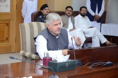 حکومت صوبے بھر میں اس ماہ کی نو تاریخ سے صاف اور سرسبز مہم کا آغاز کرے گی، محمود خان