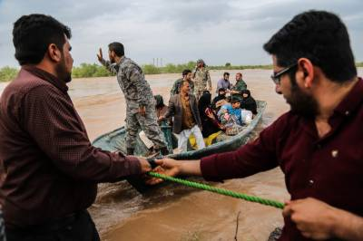 ایرانی صوبہ خوزستان میں سیلاب کے خطرے کے پیش نظر 70 دیہات خالی کرنے کا حکم