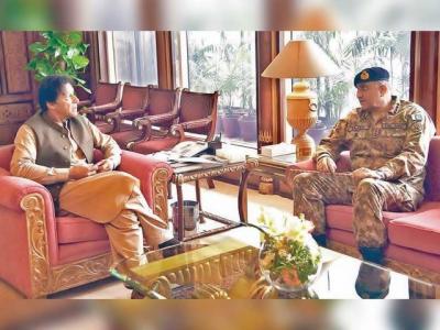 وزیراعظم و جنرل باجوہ ملاقات، ملکی سلامتی کے امور پر تبادلہ خیال -
