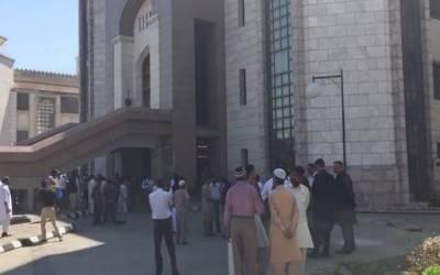 اسلام آباد: وزیراعظم آفس کے کیبنٹ بلاک میں واقع کمرے میں آتشزدگی