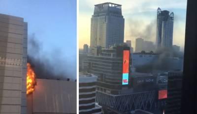 بنکاک کے تجارتی مرکز میں آتشزدگی،2 ہلاک،17زخمی