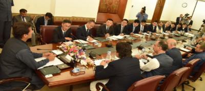 پاکستان زراعت اور صنعت سمیت متعدد شعبوں میں چین کی مہارت سے استفادہ کرے گا; وزیراعظم