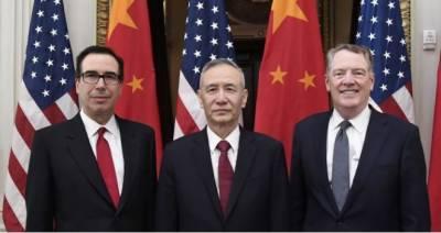 تجارتی جنگ، چین نے امریکا میں مذاکراتی دور کامیاب قرار دے دیا