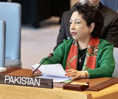 پاکستان نے امن مشنوں کے مینڈیٹ کیلئے اعلیٰ ترین معیارمقررکیاہے، ملیحہ لودھی