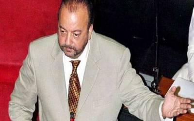 آغا سراج درانی کی درخواست ضمانت پر نیب کو نوٹس جاری