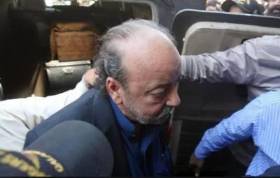 آمدن سے زائد اثاثے: آغا سراج درانی عدالتی ریمانڈ پر 26 اپریل تک جیل منتقل