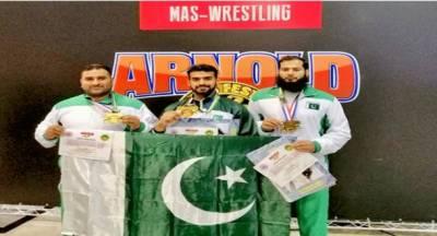 ماس ریسلنگ چیمپئن شپ؛ پاکستان نے تاریخ رقم کردی