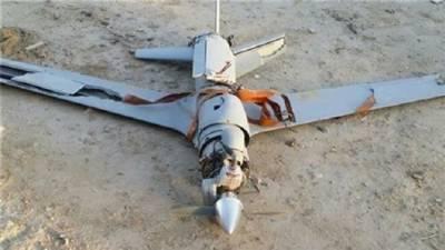 یمنی فوج نے الحدیدہ میں حوثیوں کا جاسوس ڈرون مار گرایا۔