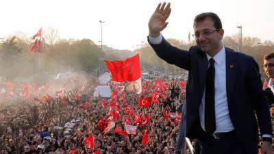 ترکی : حزب ِاختلاف کے امیدوار اکرم امام اوغلو استنبول کے منتخب میئر قرار