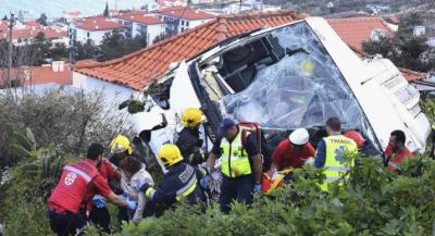 پرتگال میں بس کے حادثے میں جرمنی کے 29 سیاح ہلاک، 21 زخمی