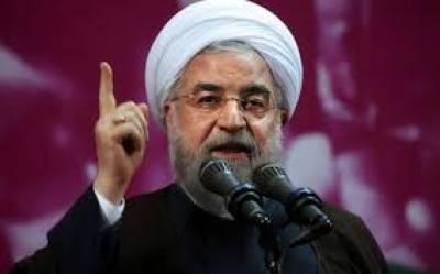امریکا اپنے فیصلوں کے ذریعے کبھی ایران کو خوف زدہ نہیں کرسکتا: حسن روحانی