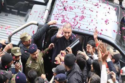 احتساب عدالت: علیم خان کے جوڈیشل ریمانڈ میں 30 اپریل تک توسیع