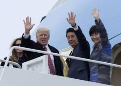 شمالی کوریا تنازعہ، صدر ٹرمپ کی جاپانی وزیراعظم سے جلد ملاقات متوقع