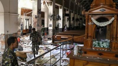 سری لنکا میں8دھماکوں کے تناظرمیں 13 مشتبہ افراد گرفتار