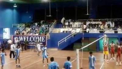 نیشنل والی بال چمپئن شپ: فائنل آرمی اورواپڈا کے درمیان آج کھیلاجارہاہے