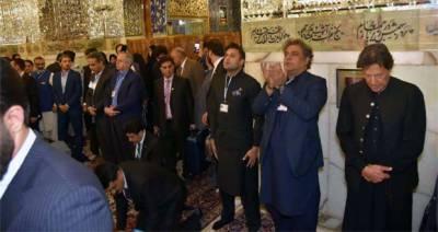 وزیراعظم کی امام علی رضا کے مزار پر حاضری