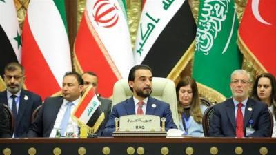 سعودی عرب اور ایران کی عراق کے اندرونی معاملات میں مداخلت کے یک زبان مخالفت