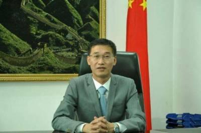 وزیراعظم عمران خان کے دورہ چین سے سی پیک منصوبہ کو مزید تقویت ملے گی۔ چینی سفیر