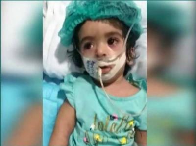 ننھی نشوہ کی ہلاکت : اسپتال پر صرف پانچ لاکھ روپے جرمانہ عائد، دو ملازمین ذمہ دار قرار