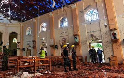 ایسٹر دھماکوں میں ایک خاتون سمیت 9خود کش حملہ آور ملوث تھے.سری لنکا