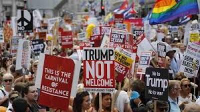 برطانیہ میں موحالیاتی تبدیلیوں کے خلاف احتجاج، مظاہرین سڑک پر لیٹ گئے