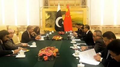 وزیرخارجہ،چینی ہم منصب کا دوطرفہ روابط،سی پیک اورعلاقائی امورپرتبادلہ خیال