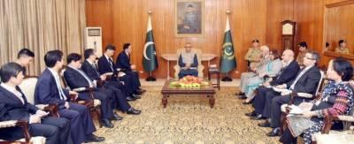 صدر کا پاکستان اورجمہوریہ کوریا کے درمیان دوطرفہ تجارتی حجم بڑھانے کی ضرورت پرزور
