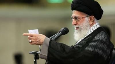 امریکا کی ایرانی تیل پر پابندیوں کا جواب دیا جائے گا۔ آیت اللہ علی خامنہ ای