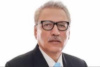 وزیراعظم عمران خان کی متحرک قیادت میں ملک تیزی سے ترقی کی شاہراہ پرگامزن ہے، صدرڈاکٹرعارف علوی
