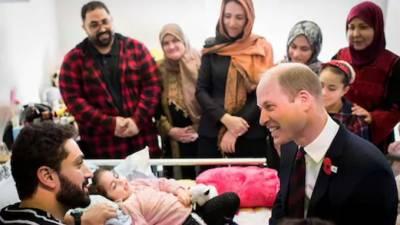 برطانیہ کے شہزادہ ولیم کی نیوزی لینڈکے دوروزہ دورے میں کرائسٹ چرچ حملوں کے زخمیوں سے ملاقات