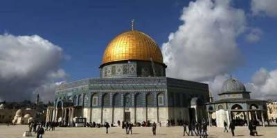عالمی برادری قبلہ اول کے خلاف اسرائیلی ریشہ دوانیوں کا نوٹس لے۔ قطر