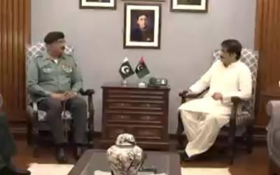 وزیر اعلیٰ سندھ سے سبکدوش ڈی جی رینجرز میجر جنرل محمد سعید کی ملاقات