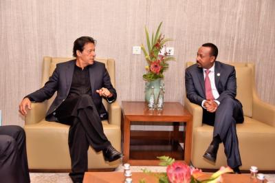 پاکستان براعظم افریقہ کےساتھ کثیرالجہتی تعلقات میں مزیدبہتری لانےکوبہت اہمیت دیتاہے:وزیراعظم