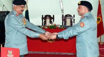 میجر جنرل عمر احمد بخاری نے پاکستان رینجرز سندھ کے 14 ویں ڈائریکٹر جنرل کا چارج سنبھال لیا